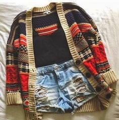 Stylish Sweater With Shorts