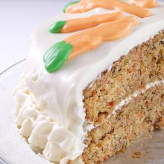 A very yummy recipe for old fashioned carrot layer cake. This is a delicious dessert.