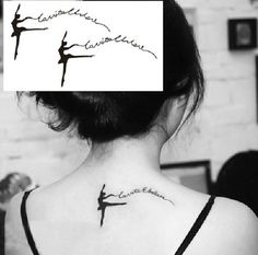 Ballet Dancer Designs Girls Temporary Tattoo Stickers