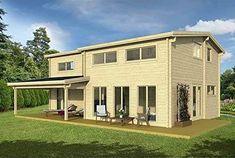 Allwood Eagle Vista | 1336 SQF DIY Cabin Kit  #ad #tinyhousemovement #tinyhouses #cabins #smallhouse #smallhouseplans #tinyhomes #tinyhomescost #tinyhomesideas #houseplans