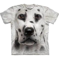 Dalmation Dog Face Adult T-Shirt The Mountain The Mountain, http://www.amazon.co.uk/dp/B00B768SSC/ref=cm_sw_r_pi_dp_wuGjrb060APV1