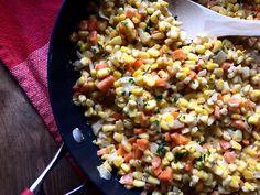 Skillet Creamy Corn & Carrot Casserole – Daily Dose Of Pepper