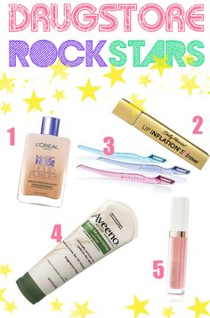 A few of my favorite budget friendly products!