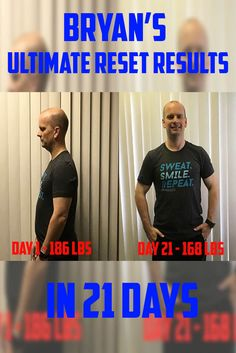 Being the busy father that he is, traveling for work… and then sustaining an injury caused a few set backs and he put a little weight back on. Even After recommitting to his workouts, the weight wasn't coming off. That's when he knew it was time to totally change his eating. #health #fitness #healthandfitness #beachbody #commitment #losingweight #beinghealthy #healthylifestyle #ultimateresetformen #ultimateresetforwomen  #results #successstories #beachbodyultimatereset #ultimatereset #detox