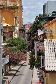 Cartagena's old city http://casaclaver.com