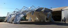 ARKIDES. Deployable structure. Estructura desplegable. Arquitecto Rodrigo Ramos.
