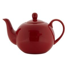 Debenhams Stoneware red teapot- at Debenhams.com