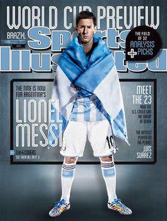 Me encanta #9dias #Mundial2014 #Messi