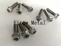 China Hexagon Head Screw Titanium/Titanium Alloy Bolt with Nut (DIN 558),China Auto Parts Steel Pin Washer Bolts and Nuts,Titanium Bolt, Bolt with Nut from Hexagon Head Screw Titanium,Plated Hex Socket Titanium Alloy Screw
