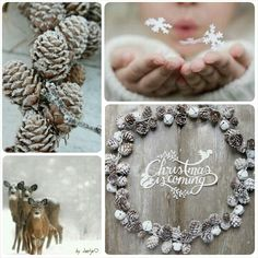 Christmas is coming #moodboard #mosaic #collage #byJeetje♡