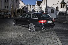 ABT Sportsline Gives New Audi RS4 Avant a Very Light Tune