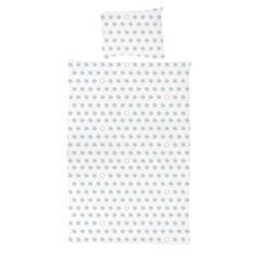 vtwonen Dots Dekbedovertrek White/Celadon - 140 x 220 cm