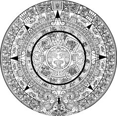 Image result for aztec coloring book