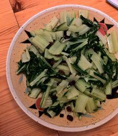 Mangoldsalat mit Rosinen
