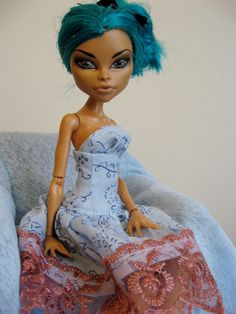 monster high NEFERA DE NILE dress by butterflydreamer6 on Etsy, $10.00