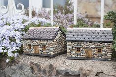 Miniature Stone Cottages