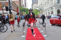Calgary Fashion Flashmob 2012  ~ Vogue Calgary ~  www.liveinvogue.com