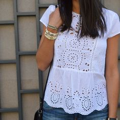 Casual Chic, Dressy Casual Outfits, Casual Tops, Fall Outfits, Fashion Outfits, Mode Boho, Blouse Patterns, Blouse Styles, Blouses For Women