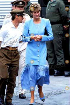 Princess Diana Winsen, Germany Photo:alpha-Globe Photos Inc 1993