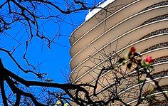 Edifício Niemeyer é um prédio residencial projetado pelo arquiteto na Praça da Liberdade, em Belo Horizonte