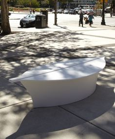 Graphic Wave Benches   As Though Bringing The Virtual World Into The Real  World, The Alexandre Moronnoz Urban Seating Has A Very Grid Like, Graphic  Feel To ...