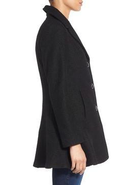 Kensie peplum coat
