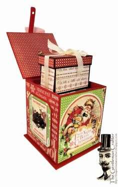 Sept 2014 Graphic 45 Twas the Night Before Xmas - Xmas Jack-In-The-Box by Jim Hankins, The Gentleman Crafter