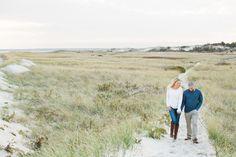 Crane Beach, Ipswich engagement session photographed by Deborah Zoe Photography.