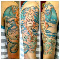 Dragonite tattoo