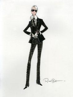 Karl Lagerfeld collabore avec Mattel - Actualité : People (#419387)