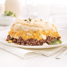 Pâté chinois au fromage en grains Beef Recipes, Vegetarian Recipes, Healthy Recipes, Canadian Food, Frozen Meals, Risotto, Meal Planning, Meal Prep, Food And Drink