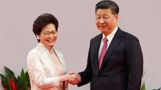 Hong Kong Gets New Leader After 20 Years Since Handover To China