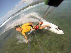 Kitesurfing on Maui