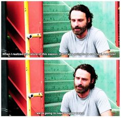 Andrew Lincoln on Season 5