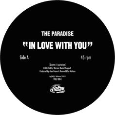In Love With You, a song by The Paradise on Spotify