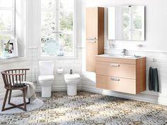 Un básico a la hora de reformar el cuarto de baño: La nueva colección de porcelana y muebles Debba, de Roca