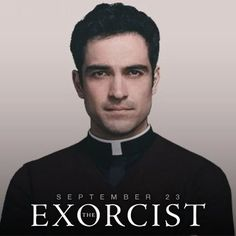 Alfonso Herrera as Father Tomas Ortega in Fox's The Exorcist