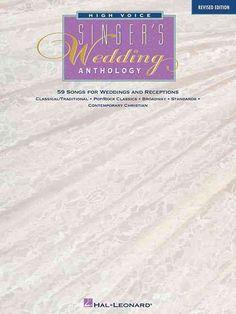 The Singer's Wedding Anthology
