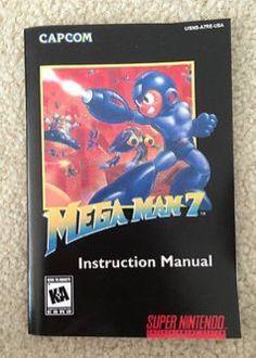Mega Man 7 - Nintendo Super NES