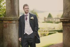 The groom.  Wedding photography at Matfen Hall by 2tone Photography. www.2tonephotography.co.uk