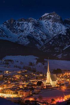 """sundxwn: """"Maria Aim by Richard Fischer """" Maria Alm in Steinernen Meer ~ Salzburg, Austria"""