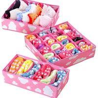 Wish | Box Socks Storage Ties Storages Boxes Underwear Organizers Clothes Organizer Container Drawer Suitcase