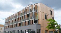 Logements collectif à Poitiers (86)  Architecte : Vettier Associés