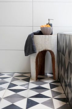 Tile and Stool Detail | So.Co Creative