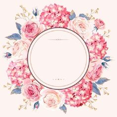 Floral Background For Wedding Invitation Png