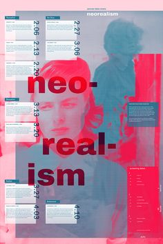 Neorealism Poster on Art Center Gallery