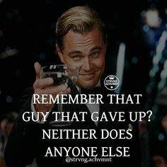 Time for motivational quotes by strvng.achvmnt Never give up. Follow your…