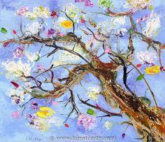 peter keizer - vanuit mijn zolderraam - kunstcentrum - kunstuitleen online
