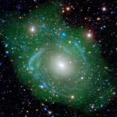 UGC 1382 Scientists have been taken by surprise to discover that a galaxy they thought was tiny and conventional is, in fact, enormous and bizarre – and quite unlike anything they have seen before. A galaxy 'built in reverse' with youngest stars on the inside.