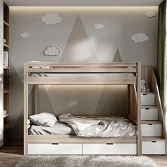 """Awesome """"modern bunk beds for boys room"""" detail is readily available on our . - Awesome """"modern bunk beds for boys room"""" detail is readily available on our website. Check it o - Bunk Bed Rooms, Bunk Beds Boys, Bunk Beds With Stairs, Cool Bunk Beds, Kid Beds, Ikea Bunk Bed, Toddler Bunk Beds, Best Bunk Beds, Boys Bunk Bed Room Ideas"""